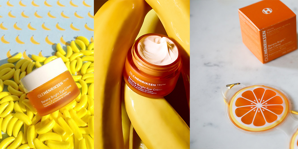 Banana Bright eye creme